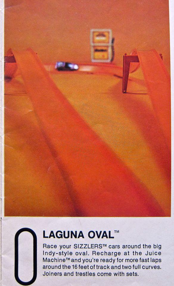 Laguna Oval from 1970 Hot Wheels Racing World  magazine.